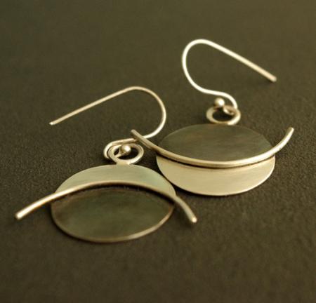 Boucles d'oreilles en argent Ping & Pong