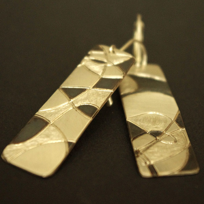 boucles oreilles createur bijou argent artisanal